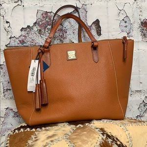 Dooney & Bourke large Maxine tote in caramel